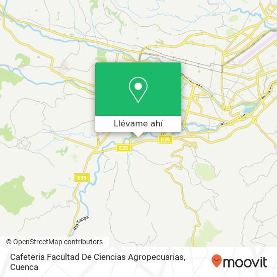 Mapa de Cafeteria Facultad De Ciencias Agropecuarias