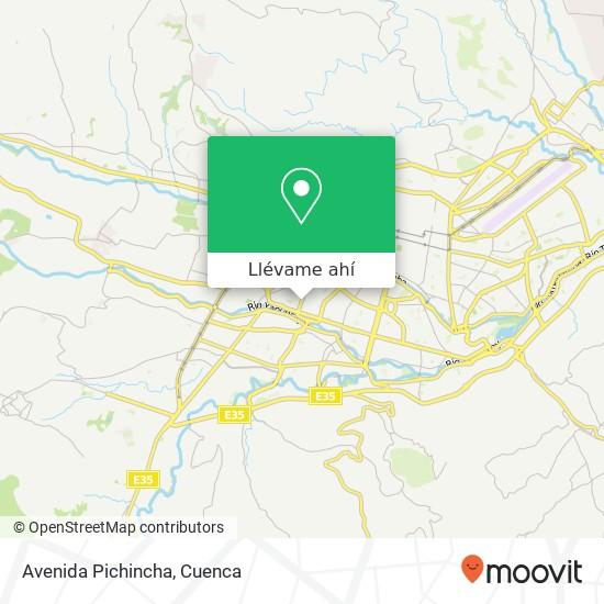 Mapa de Avenida Pichincha