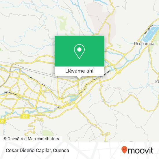 Mapa de Cesar Diseño Capilar