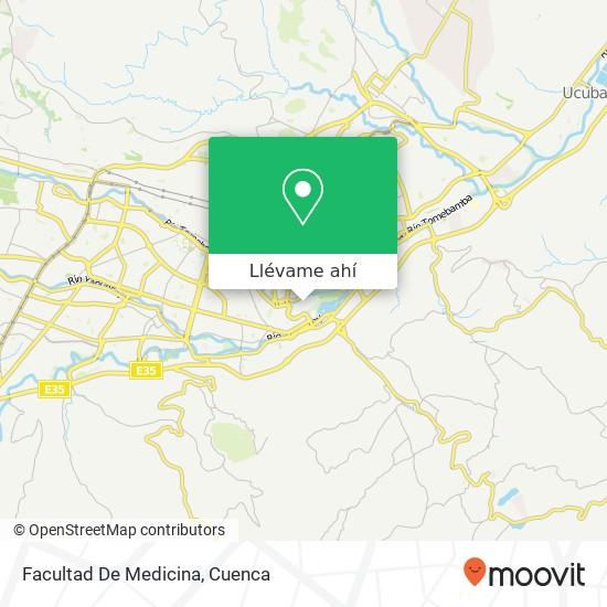 Mapa de Facultad De Medicina