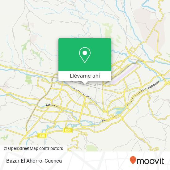 Mapa de Bazar El Ahorro
