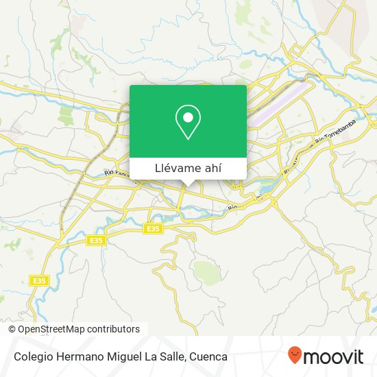 Mapa de Colegio Hermano Miguel La Salle