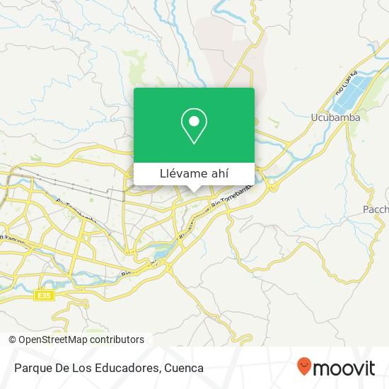 Mapa de Parque De Los Educadores