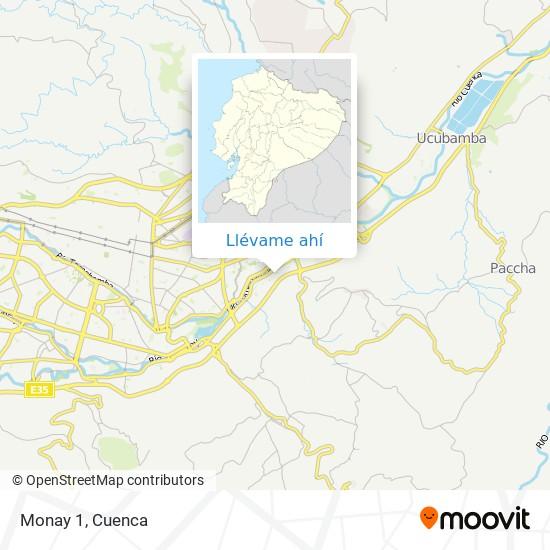 Mapa de Monay 1