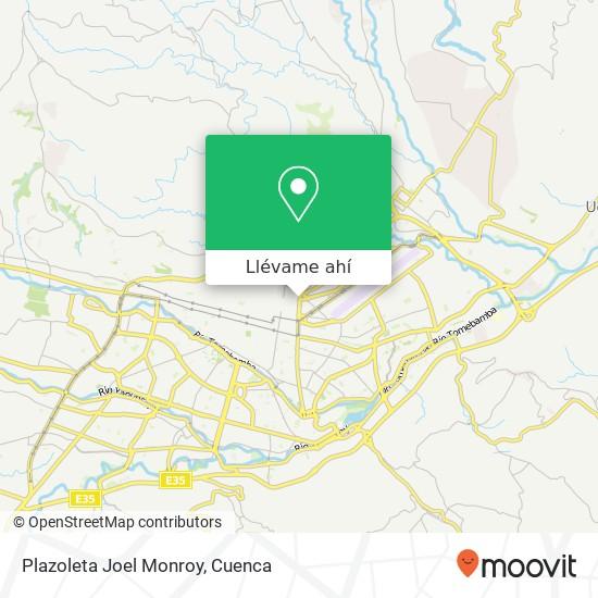 Mapa de Plazoleta Joel Monroy