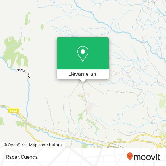 Mapa de Racar