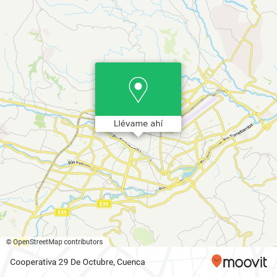 Mapa de Cooperativa 29 De Octubre