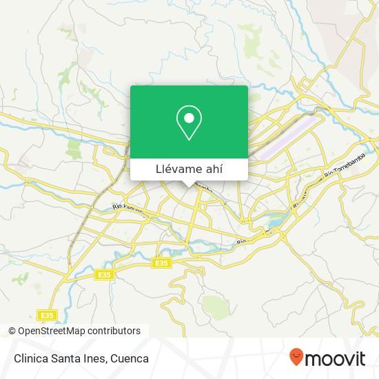 Mapa de Clinica Santa Ines