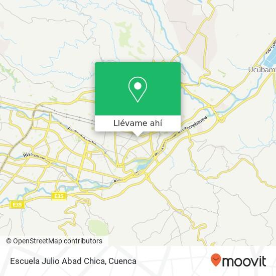 Mapa de Escuela Julio Abad Chica