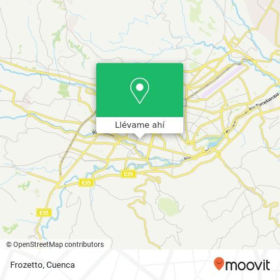 Mapa de Frozetto