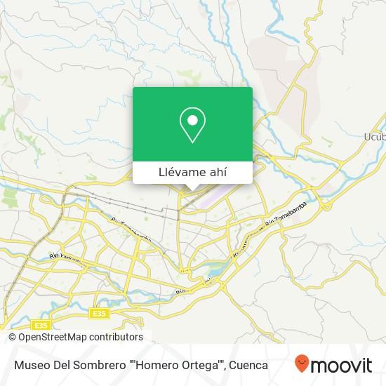 """Mapa de Museo Del Sombrero """"""""Homero Ortega"""""""""""