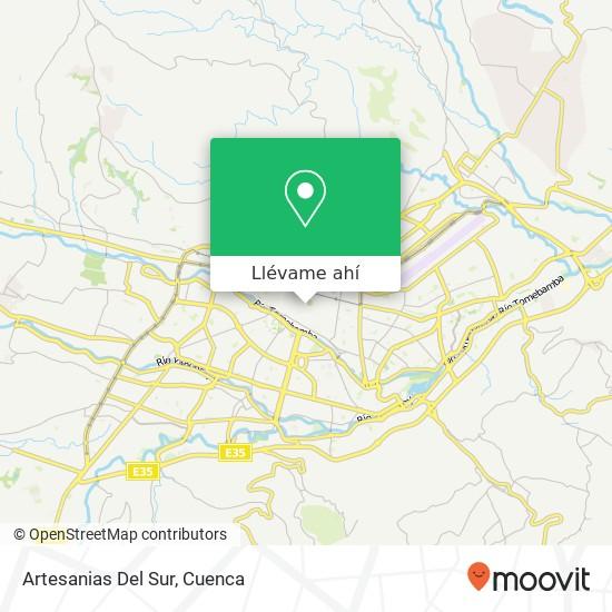 Mapa de Artesanias Del Sur