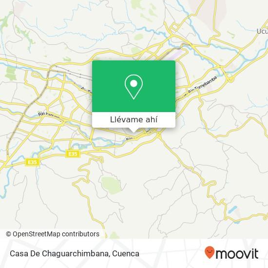 Mapa de Casa De Chaguarchimbana