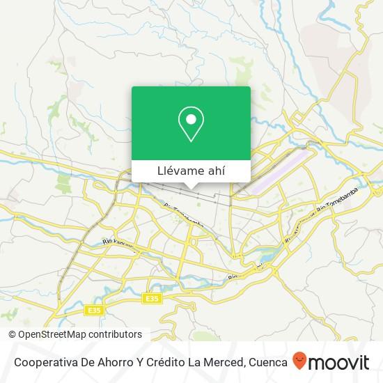 Mapa de Cooperativa De Ahorro Y Crédito La Merced