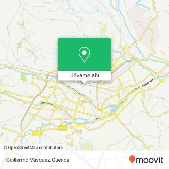 Mapa de Guillermo Vásquez