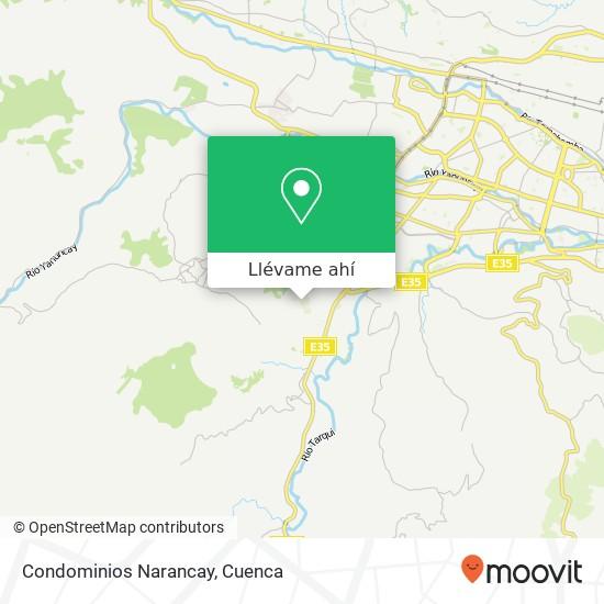 Mapa de Condominios Narancay