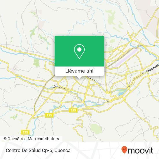 Mapa de Centro De Salud Cp-6