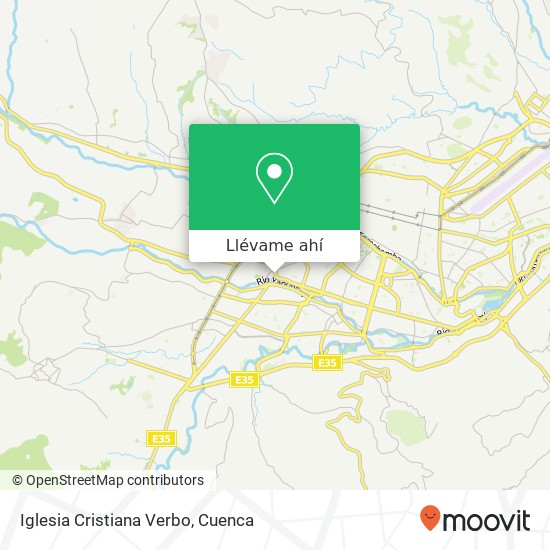 Mapa de Iglesia Cristiana Verbo