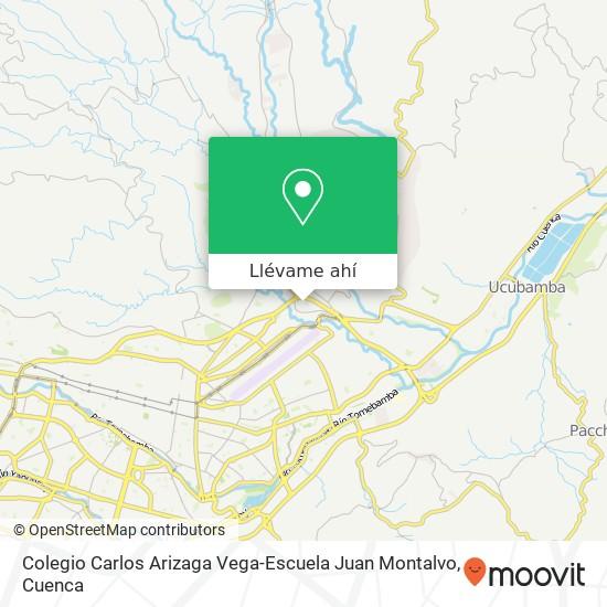 Mapa de Colegio Carlos Arizaga Vega-Escuela Juan Montalvo