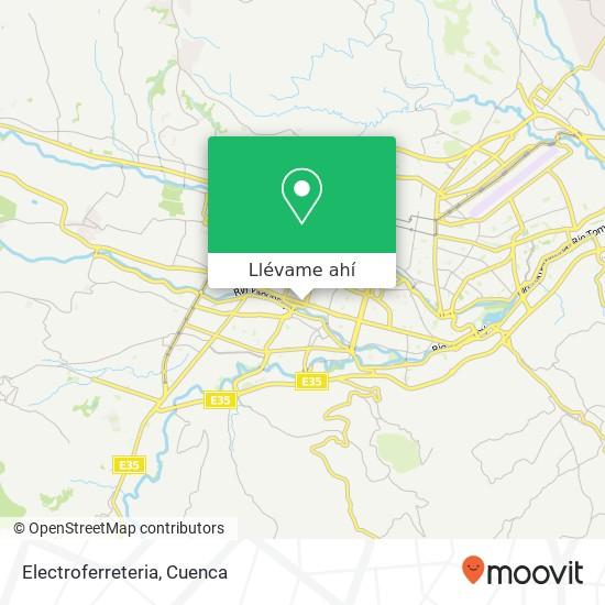 Mapa de Electroferreteria
