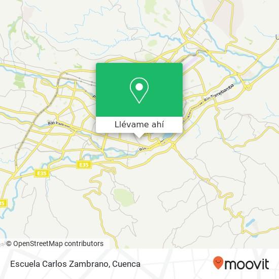 Mapa de Escuela Carlos Zambrano