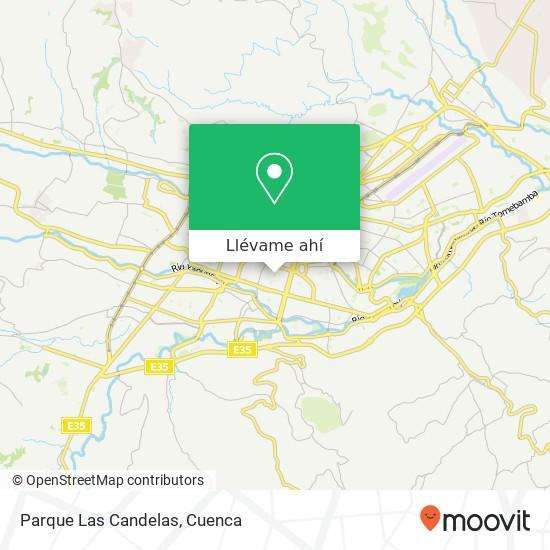 Mapa de Parque Las Candelas