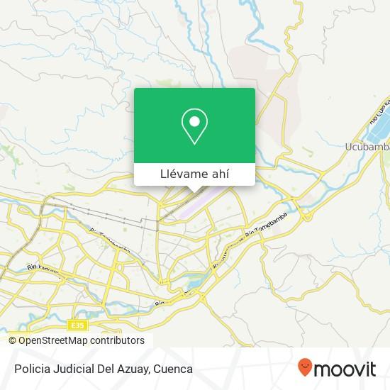 Mapa de Policia Judicial Del Azuay