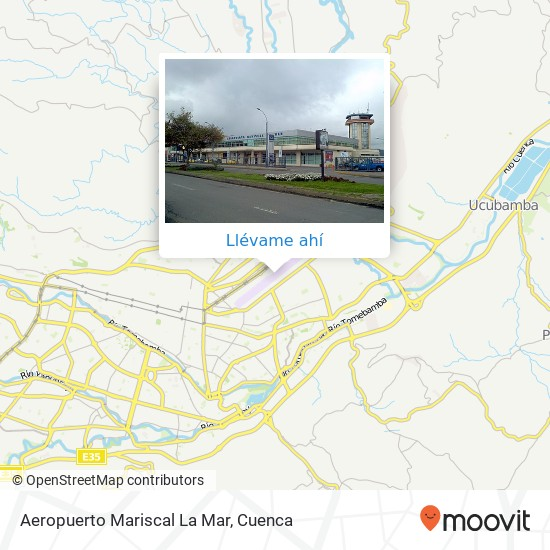 Mapa de Aeropuerto Mariscal La Mar