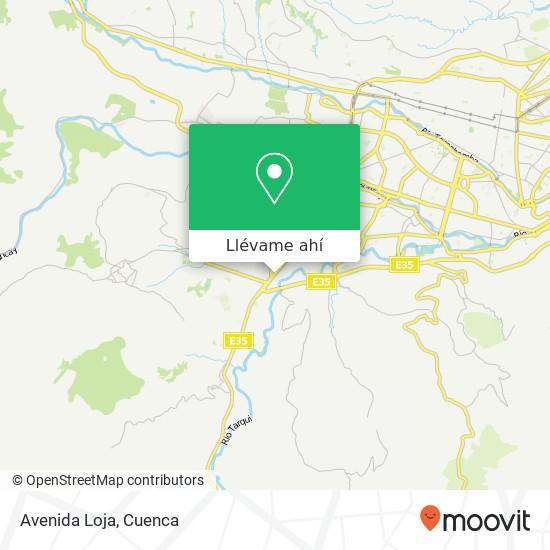 Mapa de Avenida Loja