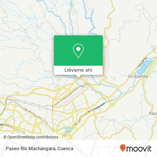 Mapa de Paseo Río Machángara