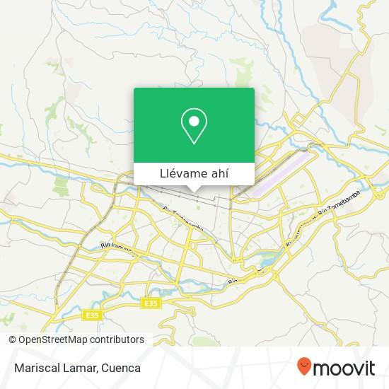 Mapa de Mariscal Lamar