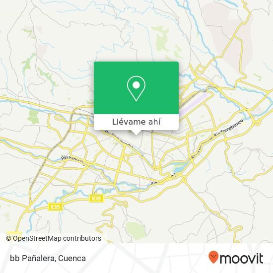 Mapa de bb Pañalera