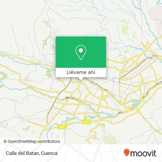 Mapa de Calle del Batan