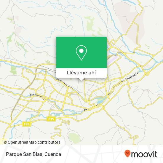 Mapa de Parque San Blas