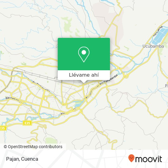Mapa de Pajan