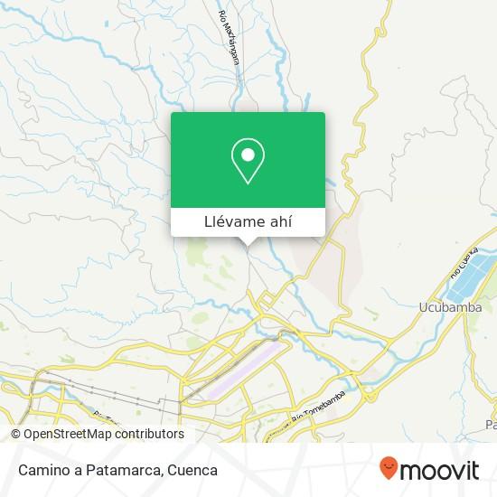 Mapa de Camino a Patamarca