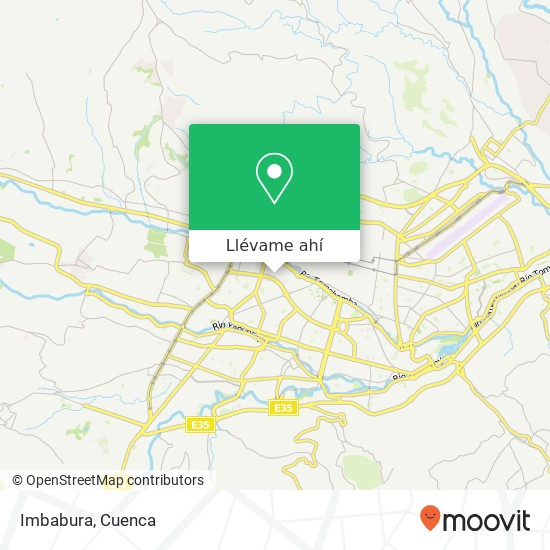 Mapa de Imbabura
