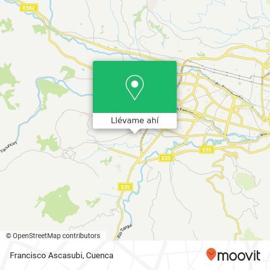 Mapa de Francisco Ascasubi