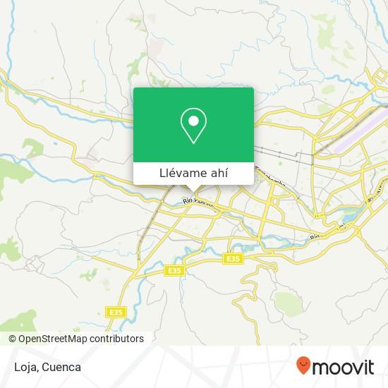 Mapa de Loja