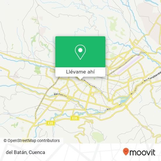 Mapa de del Batán