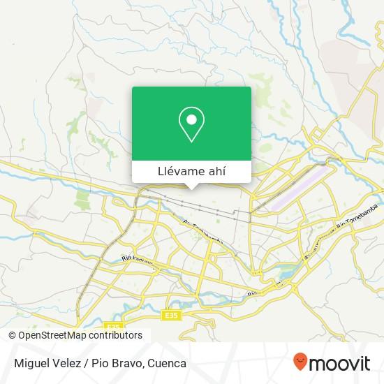 Mapa de Miguel Velez / Pio Bravo