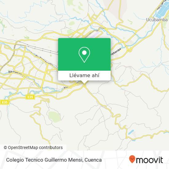 Mapa de Colegio Tecnico Guillermo Mensi