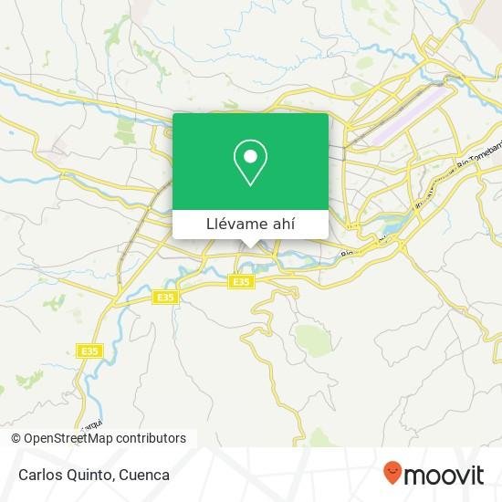 Mapa de Carlos Quinto