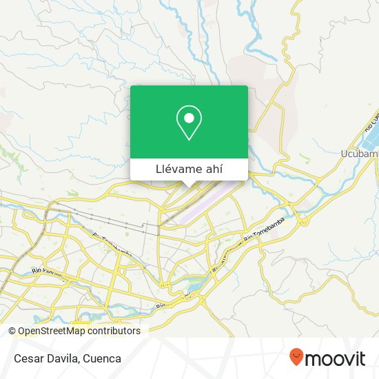 Mapa de Cesar Davila