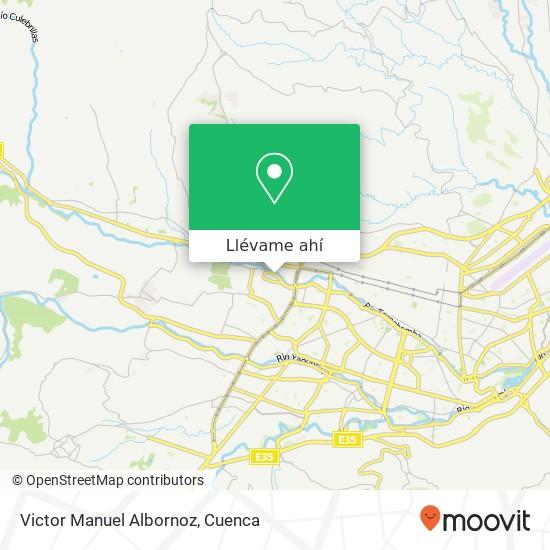 Mapa de Victor Manuel Albornoz