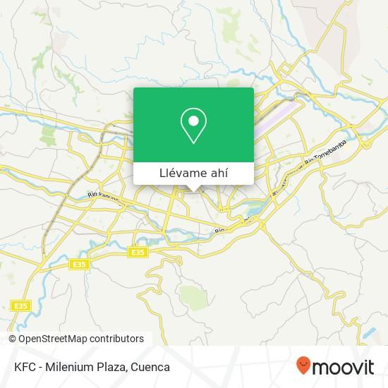 Mapa de KFC - Milenium Plaza