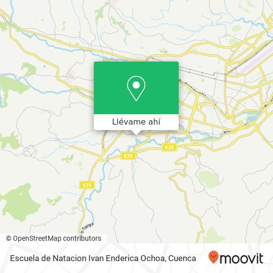 Mapa de Escuela de Natacion Ivan Enderica Ochoa