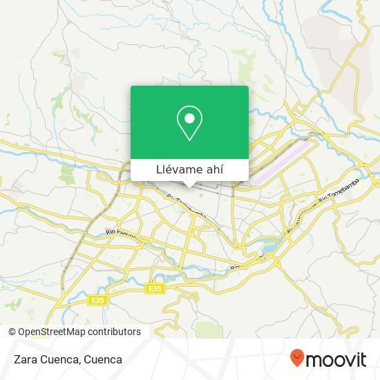 Mapa de Zara Cuenca