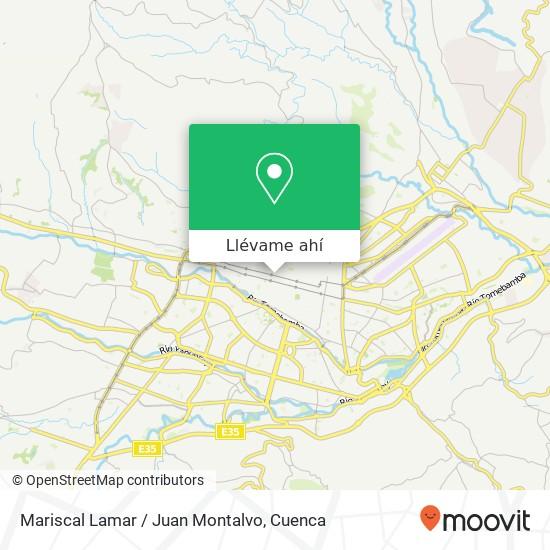 Mapa de Mariscal Lamar / Juan Montalvo
