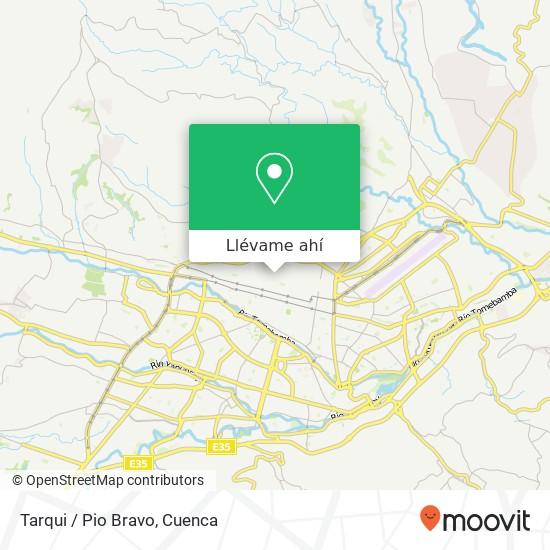 Mapa de Tarqui / Pio Bravo